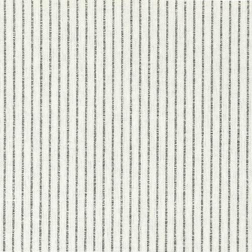 Rolô Decor Cotton - 274 White Stripes