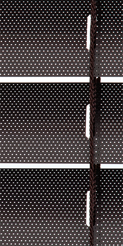 Alumínio Coulisse 50 mm - 4210 Java